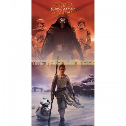 Poster Puerta Star Wars The Force Awakens - 1 UD