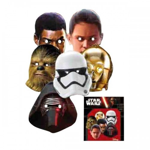 Caretas Star Wars The Force Awakens - 6 UDS