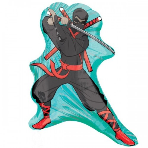 Globo Ninja - Forma 56cm Foil Poliamida - A2477602