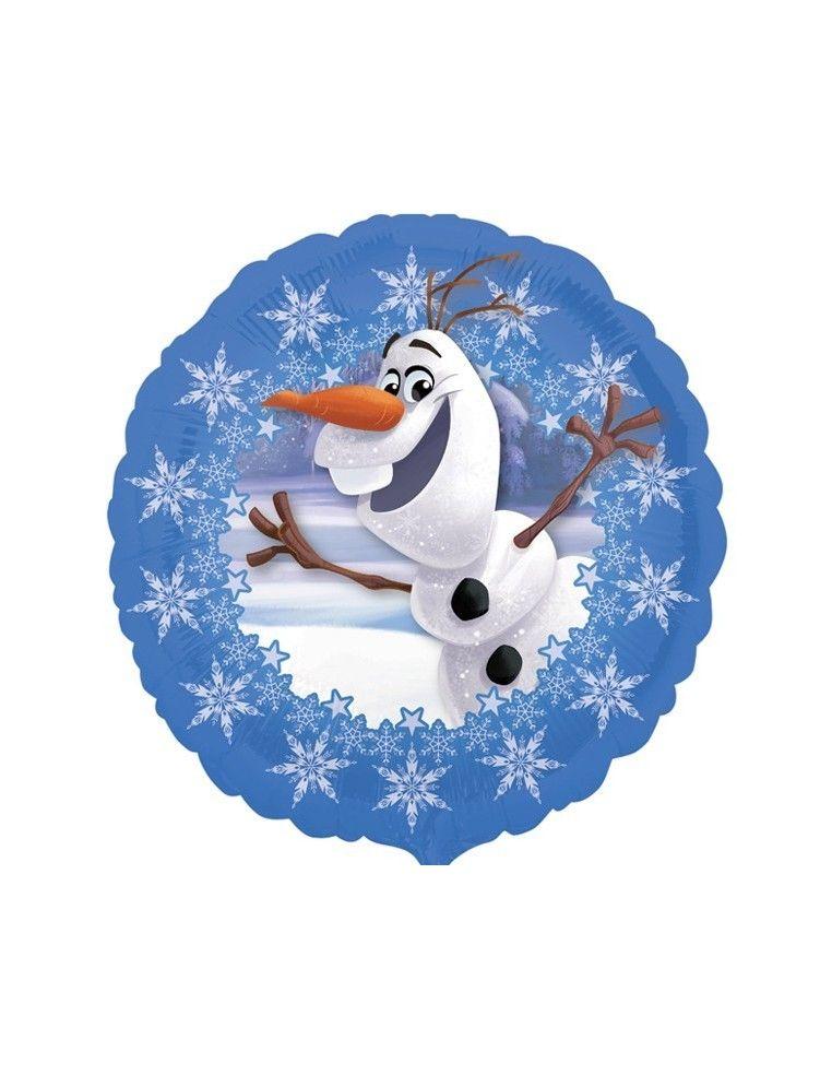 Globo Frozen Olaf - Redondo 45cm Foil Poliamida - A3195102