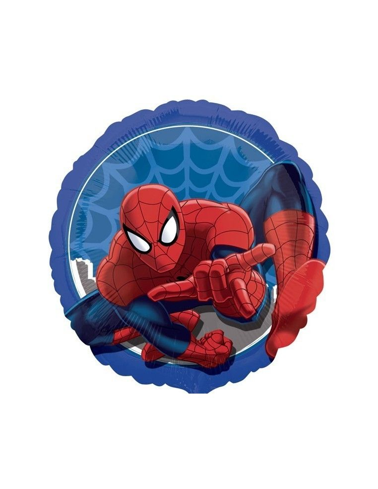 Globo SpiderMan - Redondo 45cm Foil Poliamida - A3291702