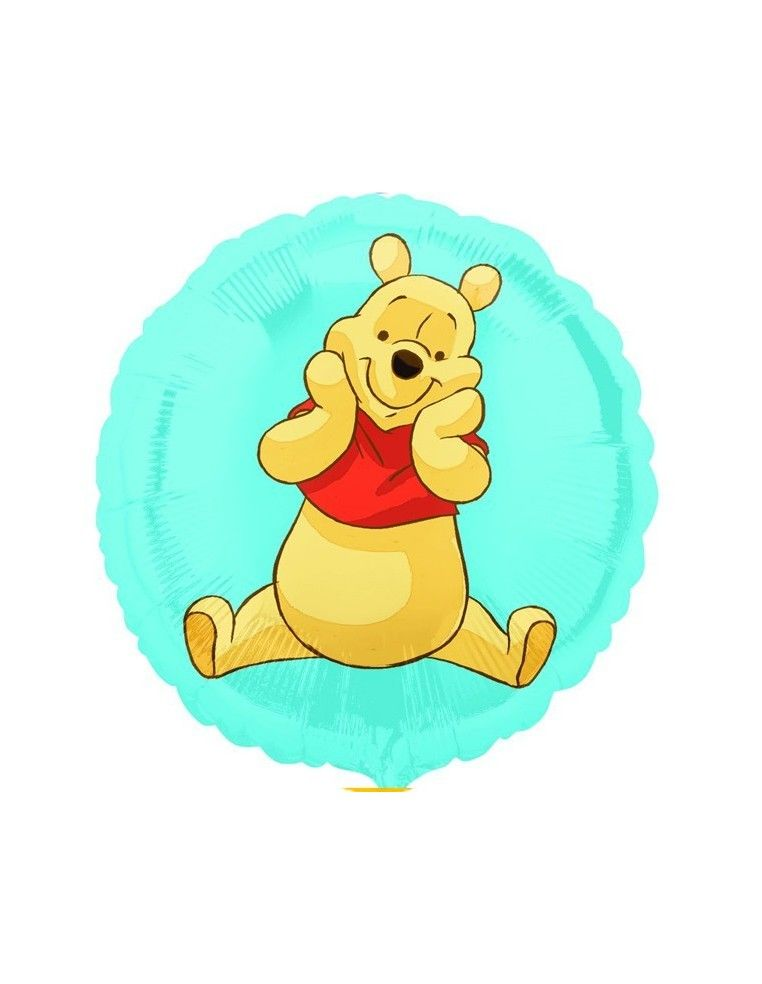 Globo Winnie The Pooh - Redondo 45cm Foil Poliamida - A2294302