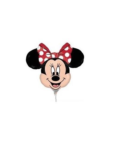 Globo Minnie Mouse Cabeza Mini Forma 25cm Foil Poliamida 2295602