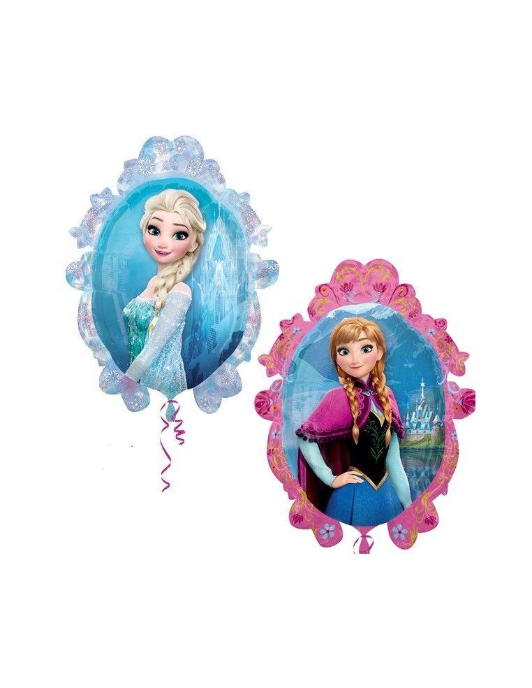 Globo Frozen Espejo Forma 69cm Foil Poliamida 3291502