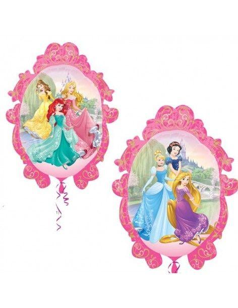 Globo Princesas Disney Espejo Forma 69cm Foil Poliamida 3291602