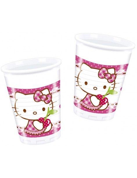 Vasos Hello Kitty Hearts de 200ml