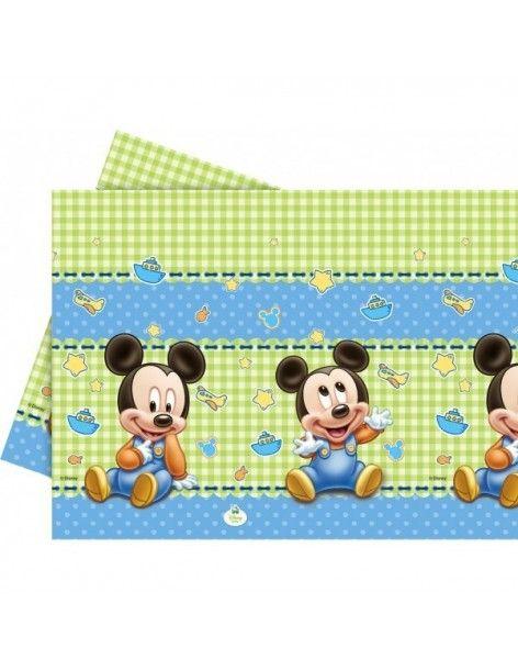 Mantel Baby Mickey de 120x180cm - 1 UD