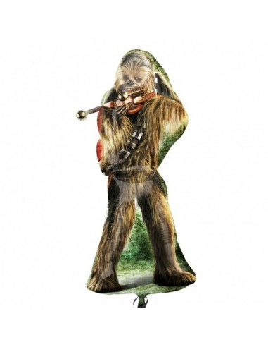 Globo Star Wars Chewbacca Forma 96cm Foil Poliamida 3040001