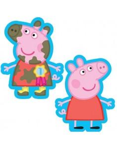 Globo Peppa Pig Barro Forma 50cm Foil Poliamida 2974701