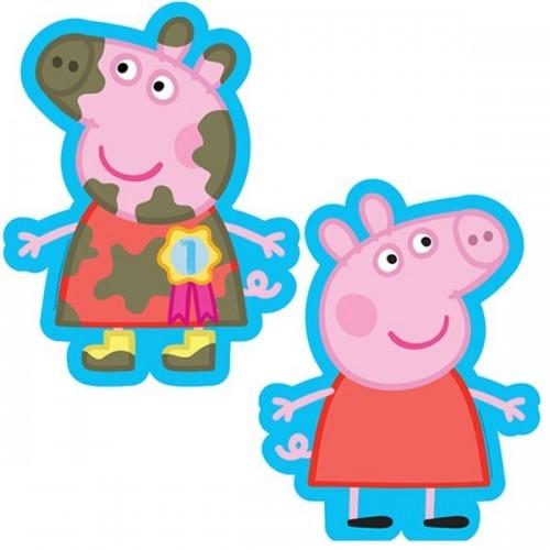 Globo Peppa Pig Barro - Forma 50cm Foil Poliamida - A2974701
