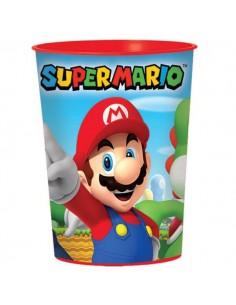 Vaso Plástico Duro Super Mario