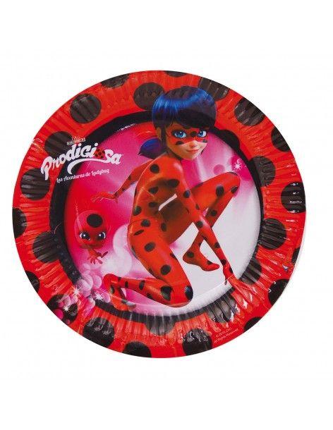 Platos Ladybug 18cm