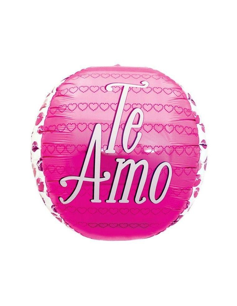 Globo Te Amo Kisses - Foil Esferico 43cm - NSB01018NSB01018