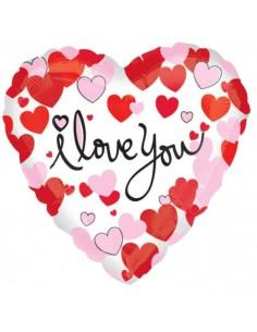Globo Hearts Equal Love Corazon 45cm