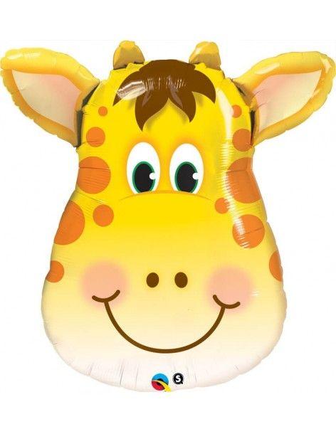 Globo Jolly Giraffe - Forma 80cm Foil Poliamida - Q16095