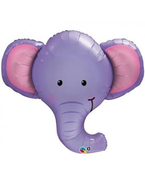 Globo Ellie The Elephant - Forma 99cm Foil Poliamida - Q16136