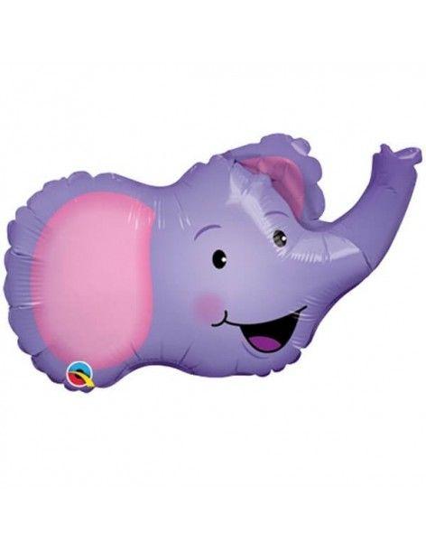 Globo Elated Elephant - Mini Forma 35cm Foil Poliamida - Q17628