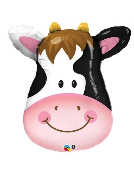 Globo Contented Cow - Mini Forma 35cm Foil Poliamida - Q41802