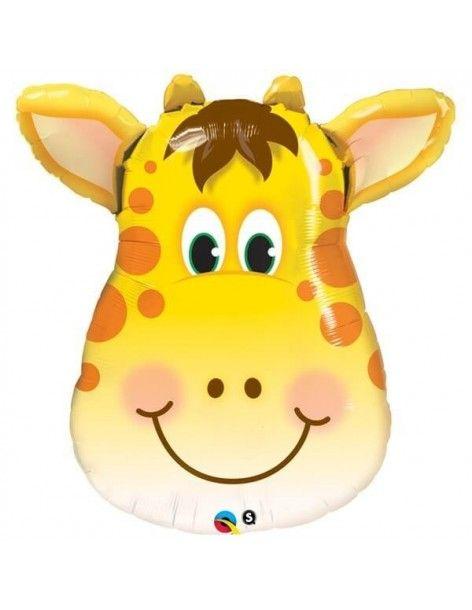 Globo Jolly Giraffe - Mini Forma 35cm Foil Poliamida - Q41790