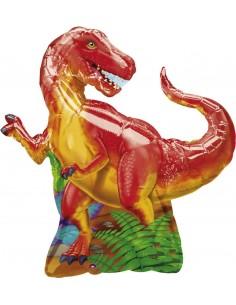 Globo Dinosaur Party - Forma 79x74cm Foil Poliamida -A0766401