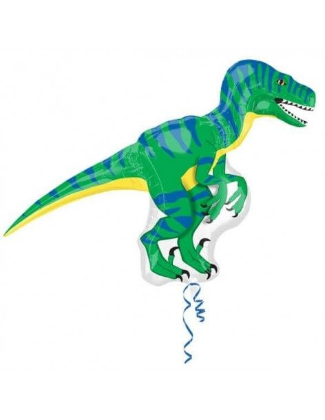 Globo Dinosario Velociraptor Street 101cm