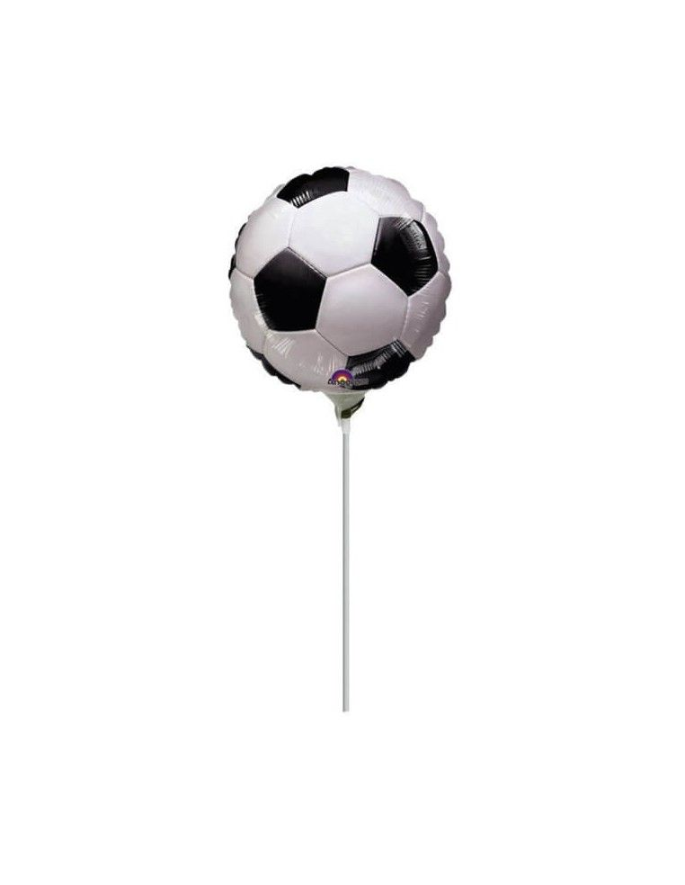 Globo Pelota Futbol - Mini 23cm Foil Poliamida - A0874709