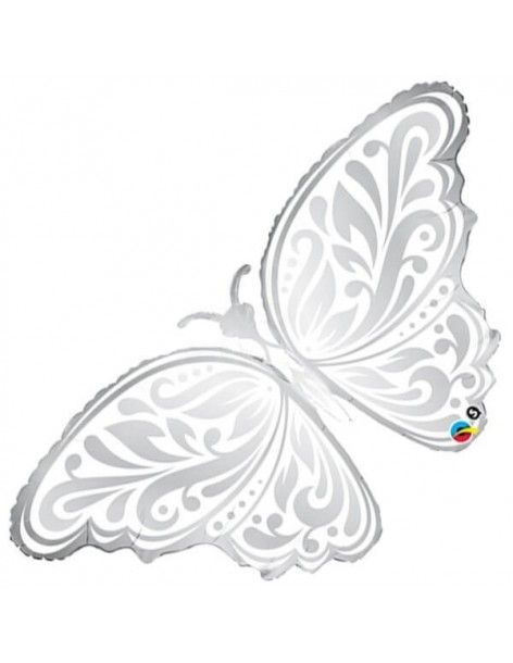 Globo Wedding Butterfly - Forma 111cm Foil Poliamida - Q17091