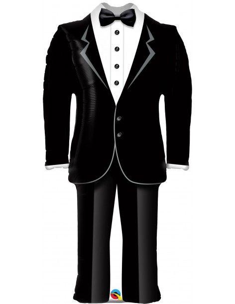 Globo Grooms Tuxedo Forma 99cm