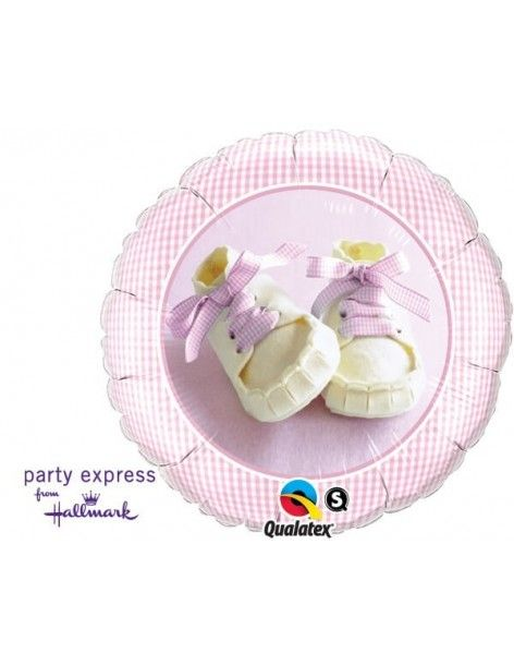 Globo Baby Girl Shoes - Redondo 45cm Foil Poliamida - Q81832