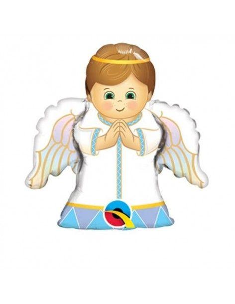 Globo Angel Boy - Mini Forma 35cm Foil Poliamida - Q49788