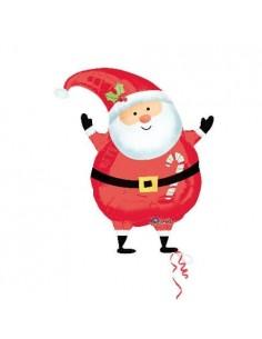 Globo Joyful Santa Claus - Forma 45cm Foil Poliamida -A2026101