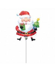 Globo Santa with Tree Mini Forma 35cm