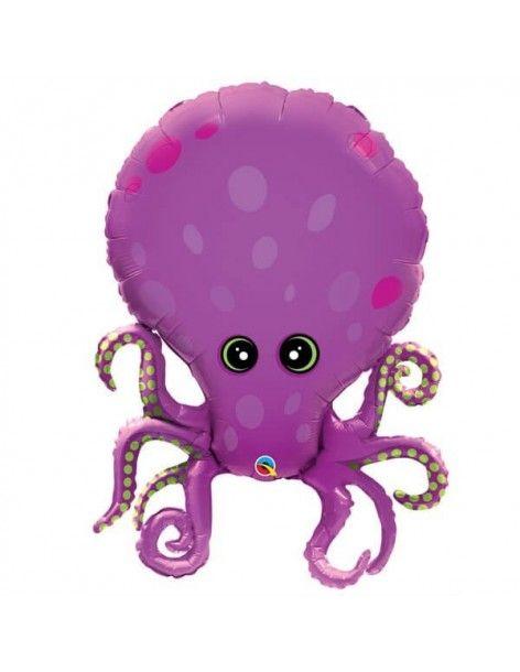 Globo Amazing Octopus - Forma 89cm Foil Poliamida - Q25164