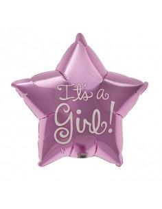 Globo Its a Girl - Mini Forma 22cm Foil Poliamida - NSB00409