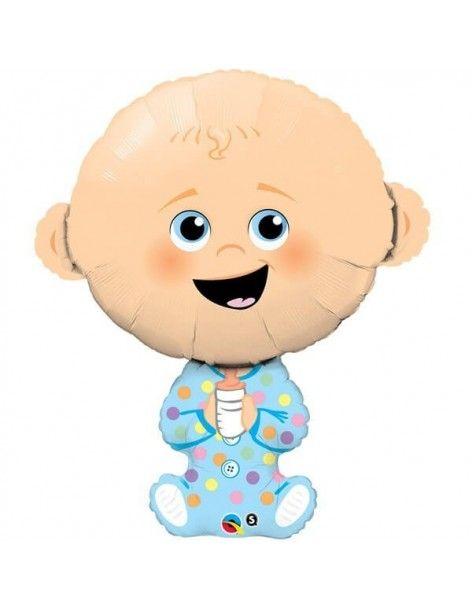 Globo Baby Boy - Forma 96cm Foil Poliamida - Q43326