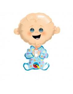 Globo Baby Boy Mini Forma 35cm Foil Poliamida