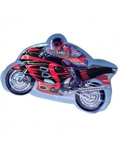 Globo Motocicleta - Forma 65cm Foil Poliamida - A2477302