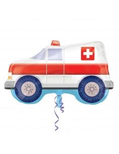 Globo Ambulancia Forma 60cm