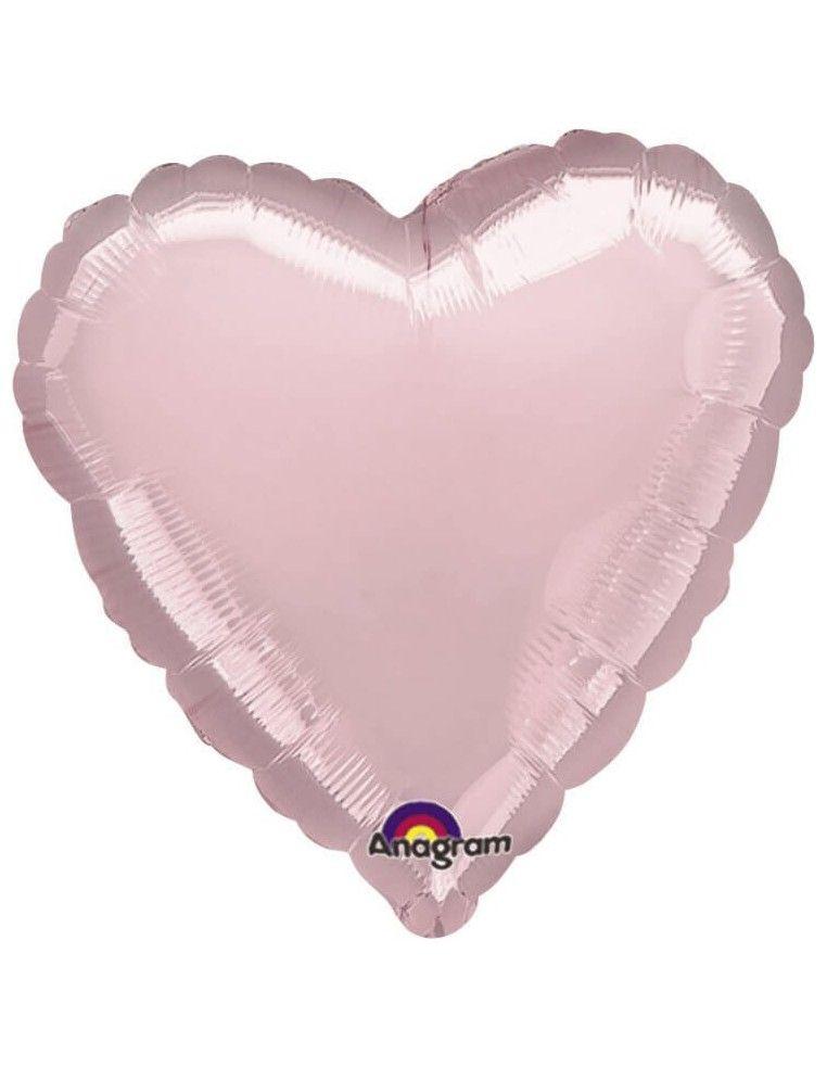 Globo Corazon 45cm Rosa - Foil Poliamida - A8004302