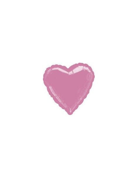 Globo Corazon 45cm Rosa - Foil Poliamida - A1280602