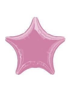 Globo Estrella 45cm Rosa - Foil Poliamida - A1280402