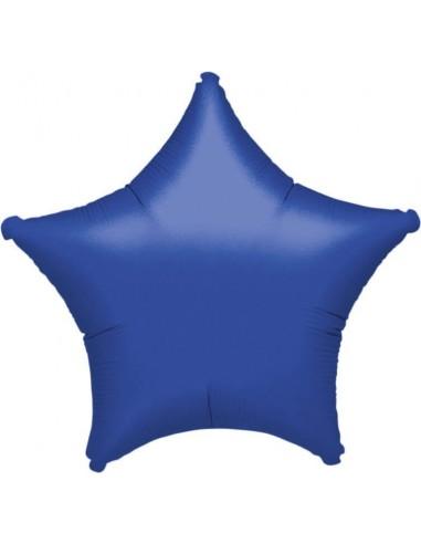 Globo Estrella 45cm Azul - Foil Poliamida - A3059202