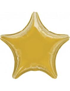 Globo Estrella 45cm Oro - Foil Poliamida - A3058502
