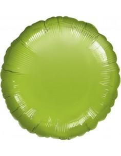 Globo Redondo 45cm Verde Lima - Foil Poliamida - A0615002