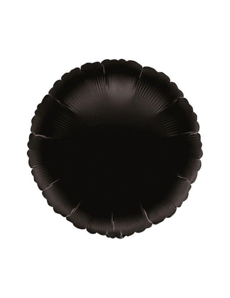 Globo Redondo 45cm Negro - Foil Poliamida - A0068102
