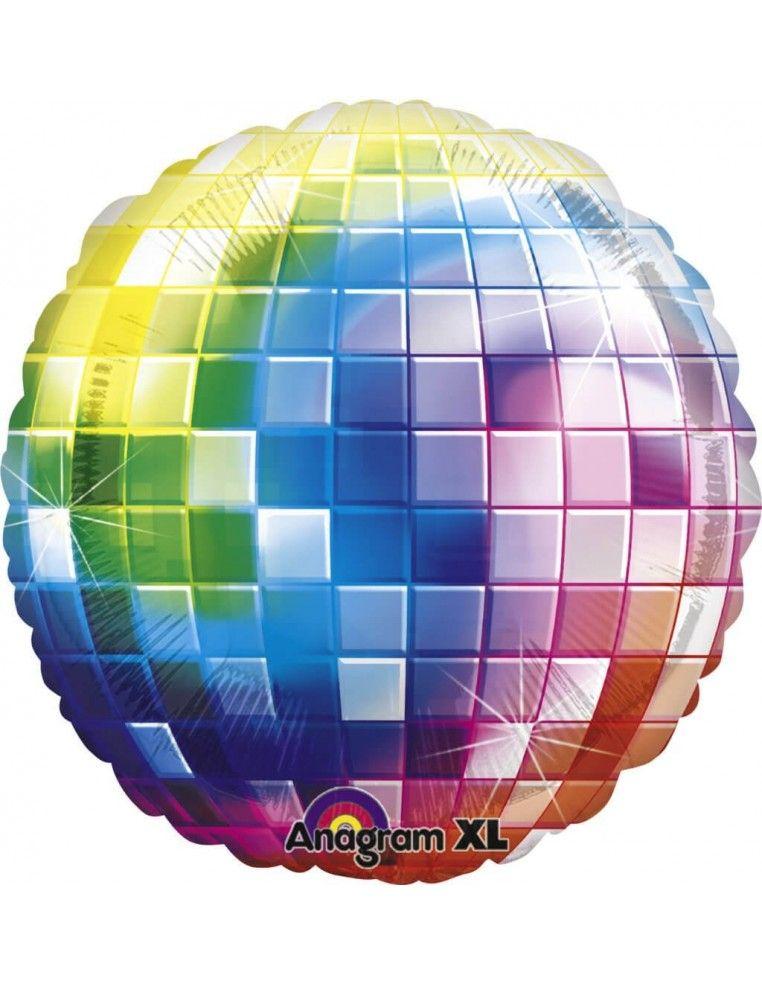Globo 70s Disco Fever - Redondo 81cm Foil Poliamida - A2746301