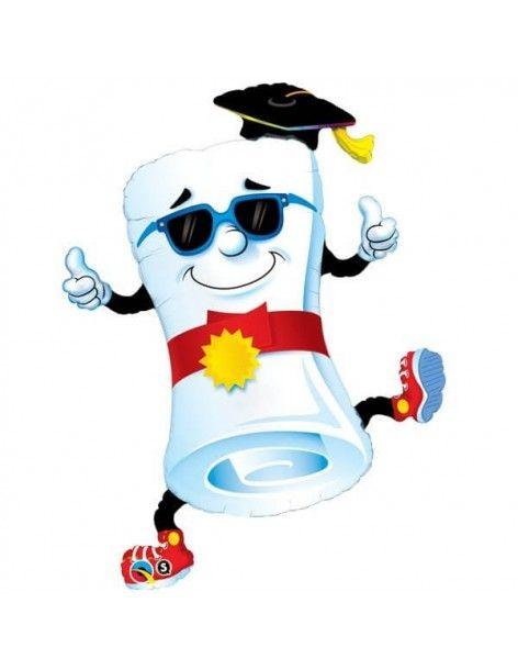 Globo Mr Diploma - Thumbs Up! - Forma 94cm Foil Poliamida - Q11564