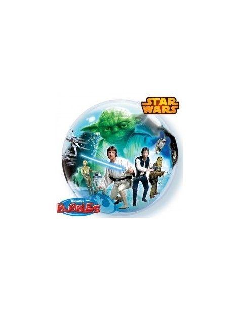 Globo Star Wars - Bubble Burbuja 55cm - Q10474