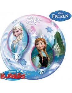 Globo Frozen - Bubble Burbuja 55cm - Q32688