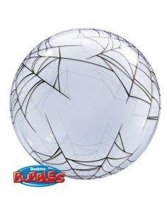 Globo Spider Web - Deco Bubble Burbuja 60cm - Q17392